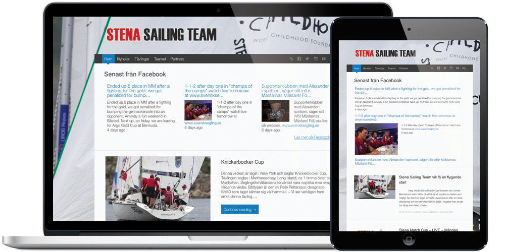 Website – StenaSailingTeam